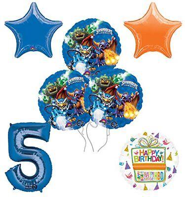 Skylander Birthday Party (Skylanders 5th Birthday Party Supplies and Balloon Decoration Bouquet)