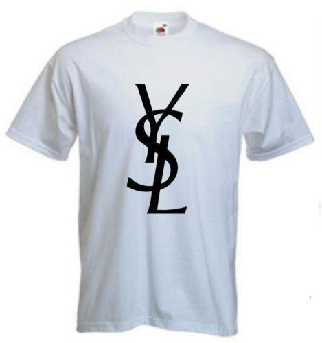 Ysl mens shirt ebay for Who sells ysl t shirts