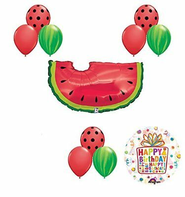 Picnic Supplies (Watermelon Picnic First Birthday Party Supplies and Balloons)