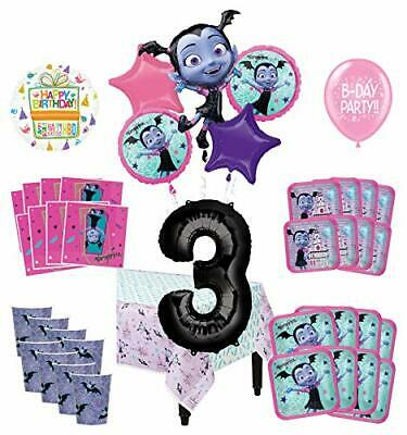Mayflower Products Vampirina 3rd Birthday Party Supplies 16 Guest Decoration Kit