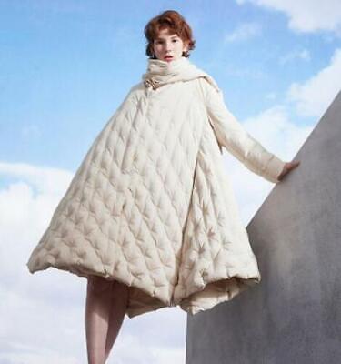 Womens Trendy Winter A-line Duck Down Coats Warm Puffer Coat Parka Overcoat
