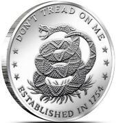Dont Tread on Me Coin