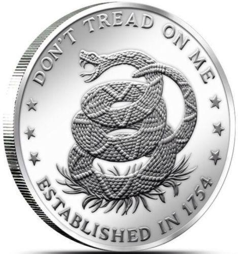 Dont Tread On Me Coin Ebay