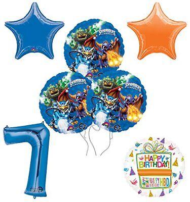 Skylander Birthday Party (Skylanders 7th Birthday Party Supplies and Balloon Decoration Bouquet)