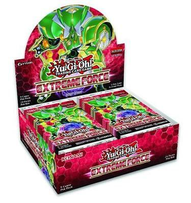 Купить Yugioh - YUGIOH EXTREME FORCE 1ST EDITION FACTORY SEALED BOOSTER BOX, 24 PACKS