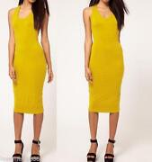Yellow Club Dress