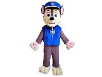 Paw Patrol Chase and Marshall Dog Mascot fancy dress up costume