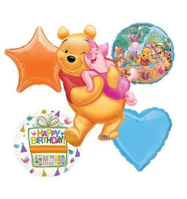Winnie The Pooh, Tigger and Friends Birthday Party Balloon Bouquet Decorations