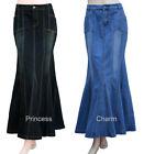 Plus Denim Skirts for Women