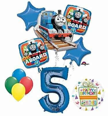 The Ultimate Thomas the Train Engine 5th Birthday Party Supplies