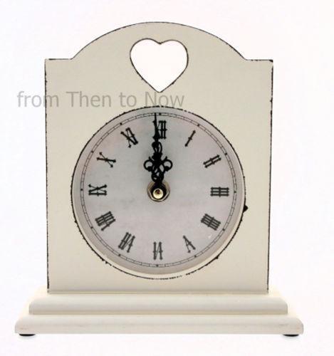 Shabby Chic Mantel Clock Ebay