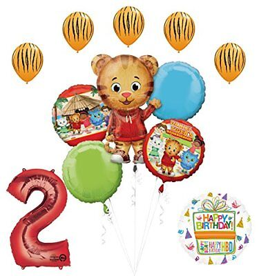 The Ultimate Daniel Tiger Neighborhood 2nd Birthday Party Supplies