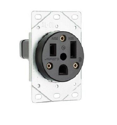 P S 3804 Straight Blade Receptacle Flush 2p 3-wire 50a 250v 6-50r