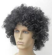 Mens Black Wig