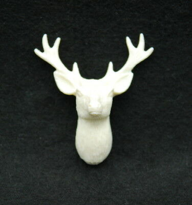 2D Deer, Silicone Mold Chocolate Polymer Clay Jewelry Soap MeltingWax Resin