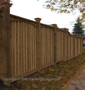 I'm looking for  New Fence QUOTE (Wood or PVC)