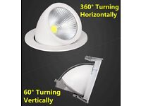 Brand New Adjustable 35W Gimbal Ceiling Light LED COB Recessed Downlight Retail Shop Store