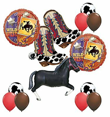 Wild West Western Party Supplies Cowboy Boots and - Cowboy Party Supplies