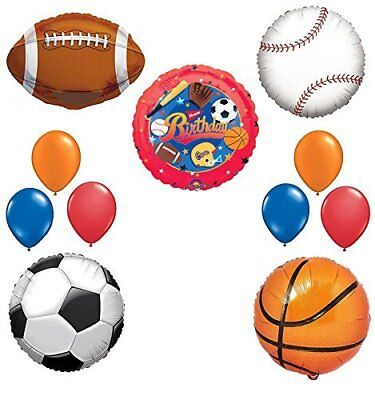 The Ultimate Sports Theme Birthday Party Supplies and Balloon Decorating Kit - Sports Theme Party Supplies