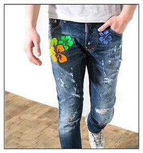 dsquared herren twisted biker jeans 2013 gr 34 dsquared. Black Bedroom Furniture Sets. Home Design Ideas