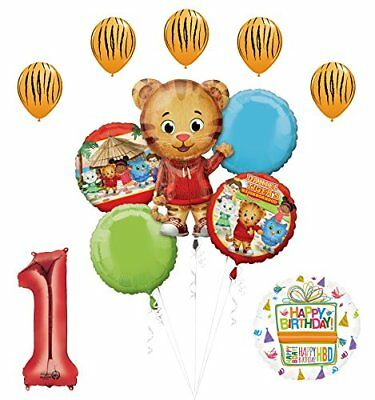 The Ultimate Daniel Tiger Neighborhood 1st Birthday Party Supplies