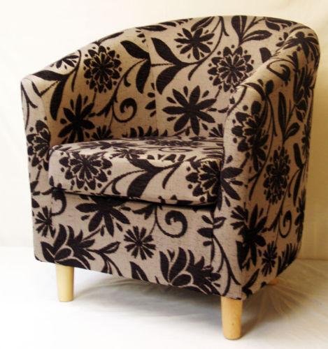 Floral Tub Chair: Armchairs | eBay