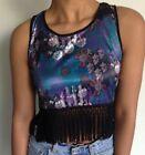 Band of Gypsies Flower Sleeveless Tops & Blouses for Women
