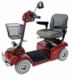 Shoprider Sovereign 4 - Mobility Scooter - with Ramp