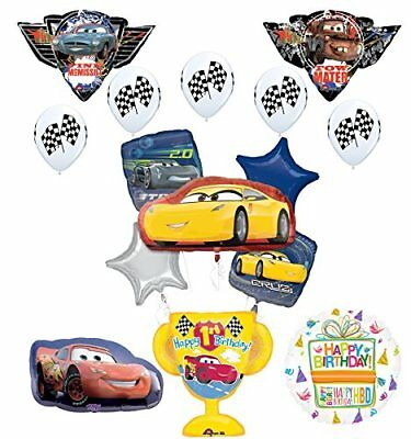 Disney Cars 1st Birthday Party Supplies Champion Trophy