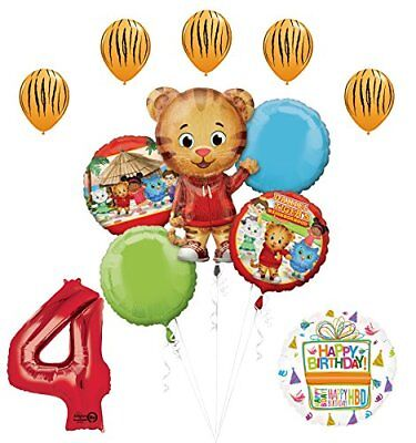 The Ultimate Daniel Tiger Neighborhood 4th Birthday Party Supplies