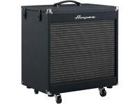 """Ampeg PF-210HE 2x10"""" 450-Watt Portaflex Bass Cabinet with Horn, ampeq amplifire"""
