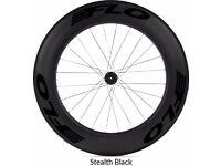 Flo wheelset (60/90) Stealth Black Shimano/Sram for triathlon - road cycling