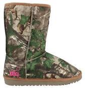 Girls Camo Boots