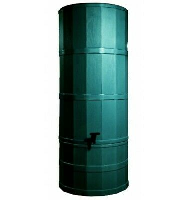 Polytank Green 200L Litres TOWER WATER BUTT KIT with Stand, Diverter & Tap