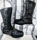 CYDWOQ Black Boots for Women