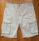Levi's Cargo Striped Shorts for Men