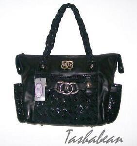 Sharif Black Handbag