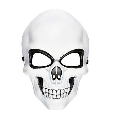 Skeleton Mask White Face Skeletor HeMan Halloween Carnival Cosplay 007 Spectre