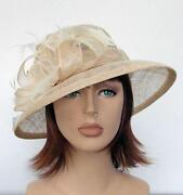 Cream Formal Hat