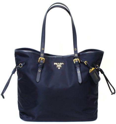 5422f27297ee Prada Saffiano Blue  Handbags   Purses