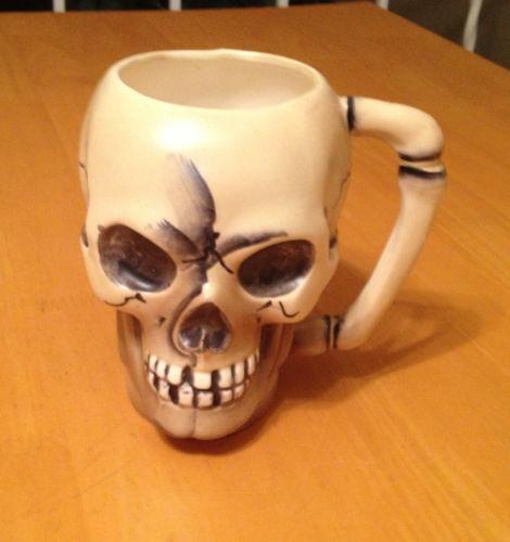 Skull Coffee Mug Ebay