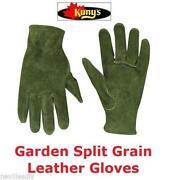 Ladies Leather Gardening Gloves