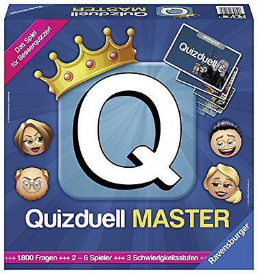Ravensburger Quizduell Master Strategiespiele Brettspiele Lernspiele Spielzeug