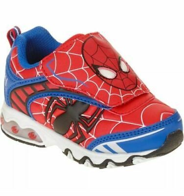 Licensed Marvel Spider-Man Toddler Boys Light-up Athletic Shoe Sneaker 7, 10, 11
