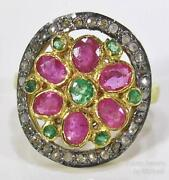 Victorian Gold Ruby Ring