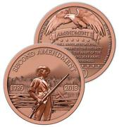 100 1oz Copper Rounds