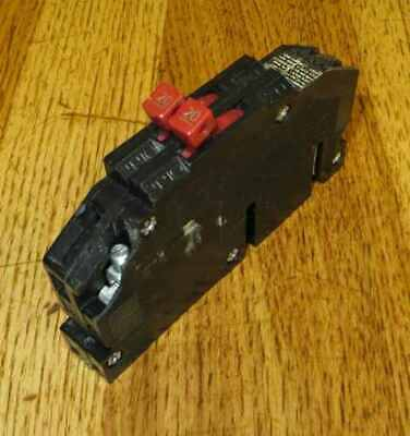 "QC40 Zinsco GTE Sylvania Plug-In Circuit Breaker 2P 40Amp 120V /""2 YEAR WARRANTY/"""