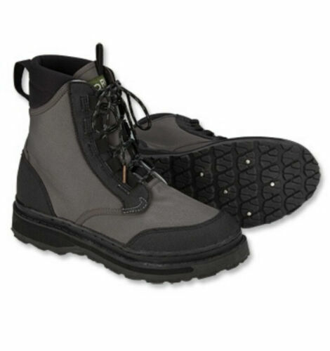 NEW ORVIS RIVER GUARD STREAMLINE WADING BOOTS SIZE 8 EU42 fly fishing waders