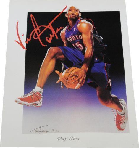 Vince Carter Poster Ebay