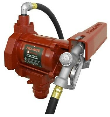 Tuthill Fill-rite Fr700v 115v Heavy Duty Fill Rite Diesel Or Gasoline Fuel Pump